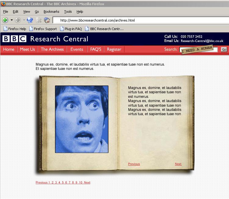 BBC clip search