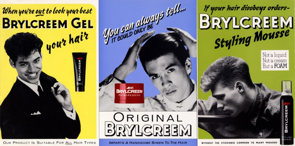Brylcreem posters