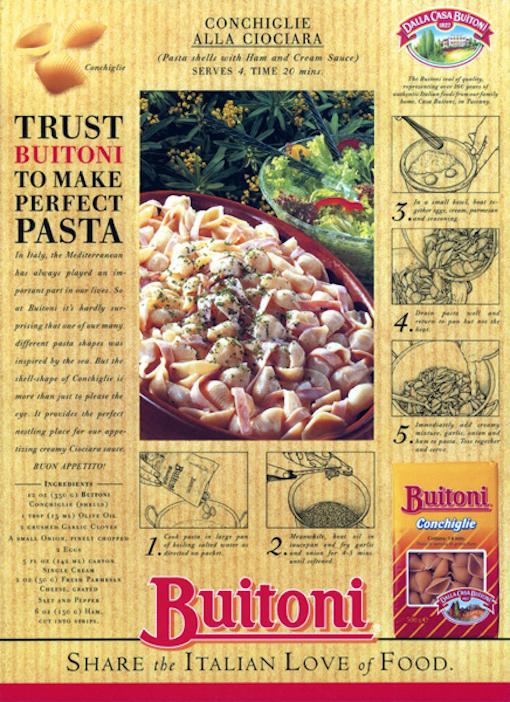 Buitoni press campaign
